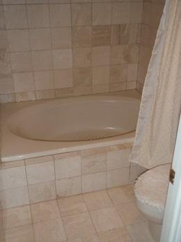 remodeled bathtub in dallas