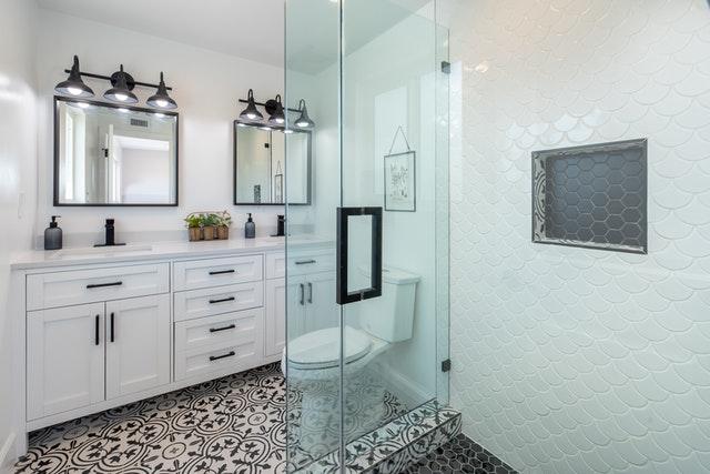 bathroom remodel bright