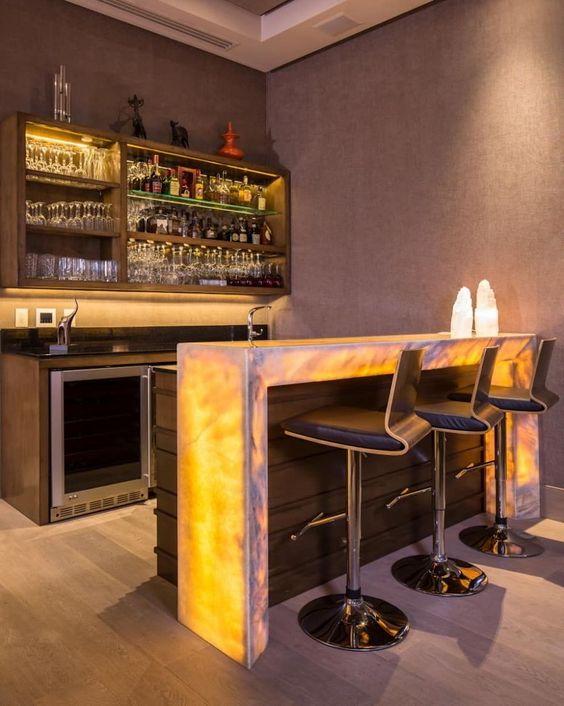 bar design party lights