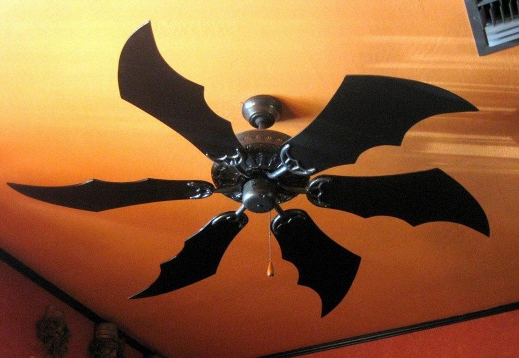 black bat wings fan