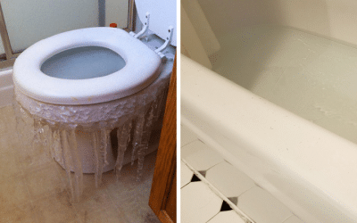 Bathrooms Across The Dallas Metro Area Are Freezing and Pipes Are Bursting During Winter Storm Uri