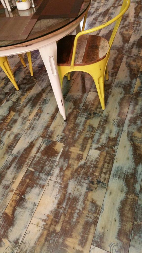 wood kitchen floor different colors